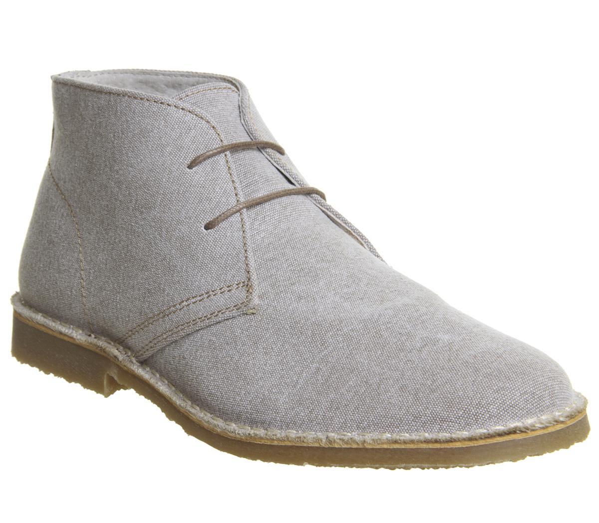 Office Fahrenheit Desert Boots Stone