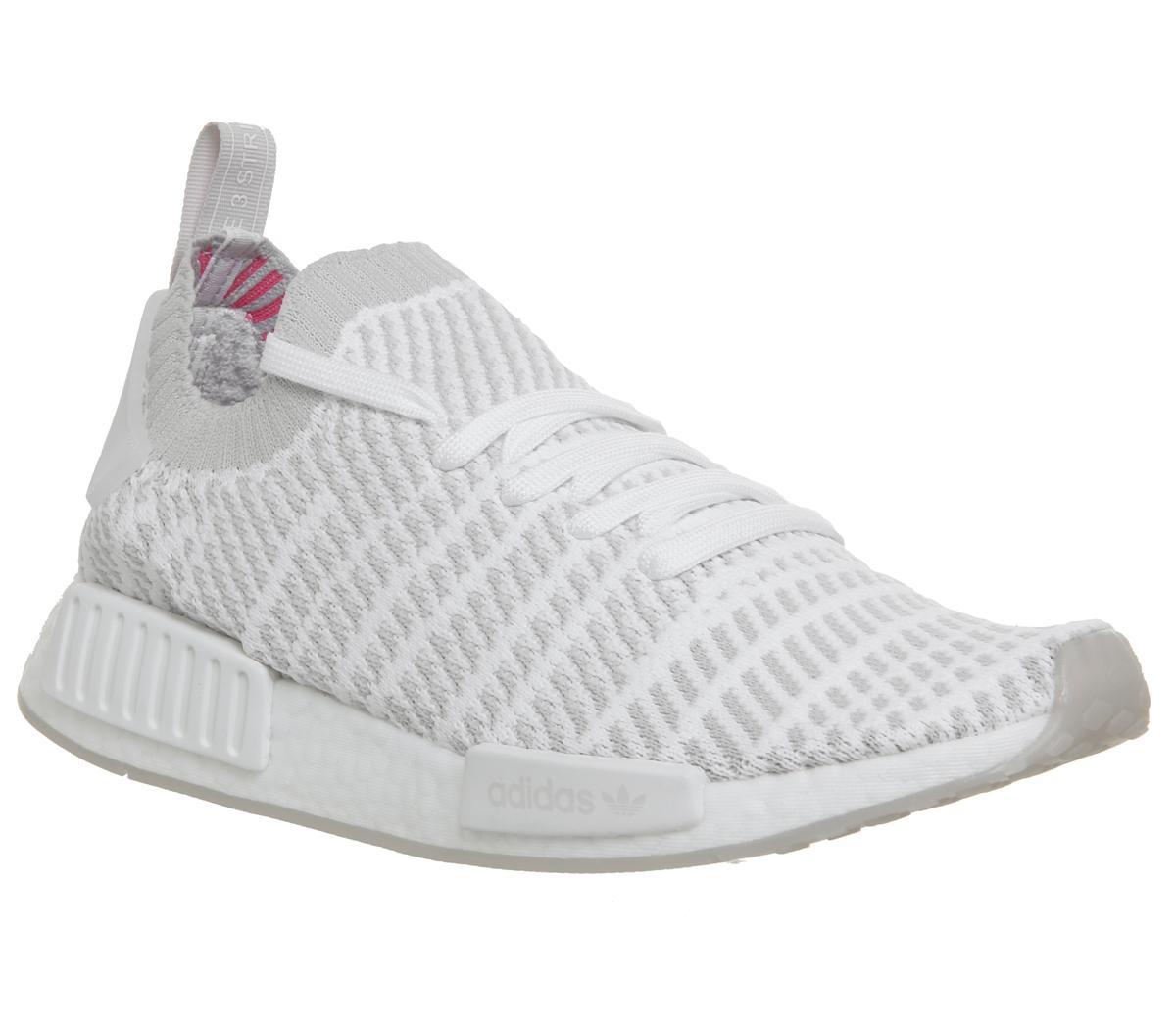 Adidas NMD R1 Grey Pink   Airfrov