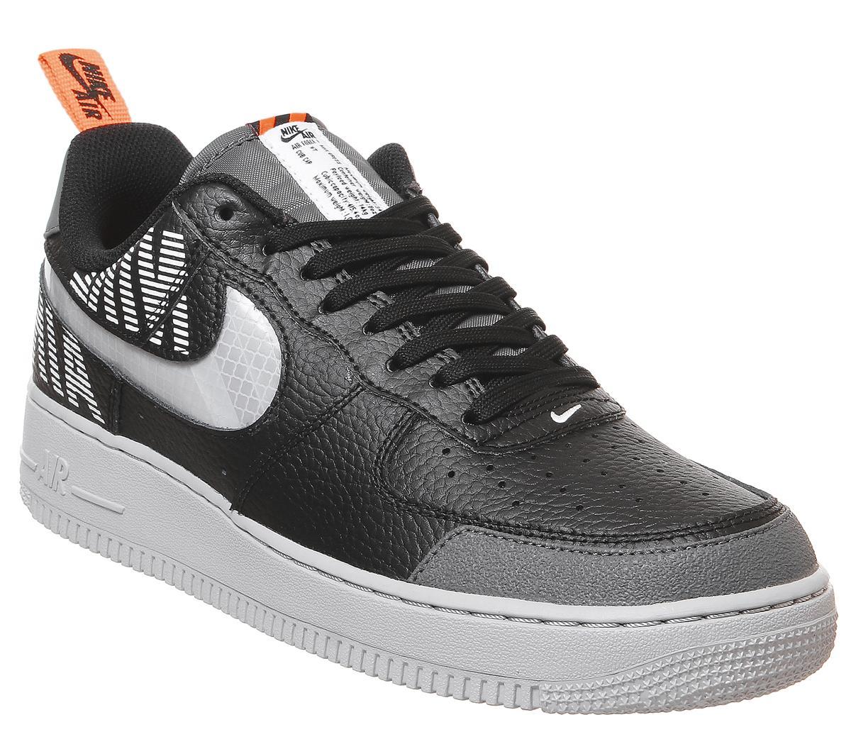 Nike Air Force 1 07 Black Wolf Grey