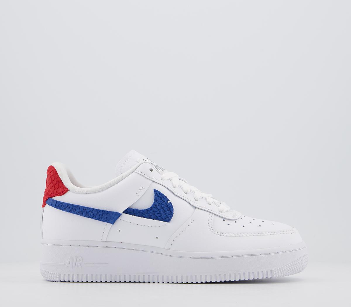 Nike Air Force 1 07 Trainers White Red