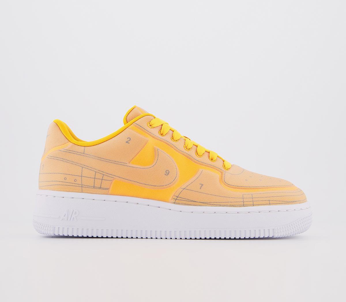 Nike Air Force 1 07 Laser Orange Black