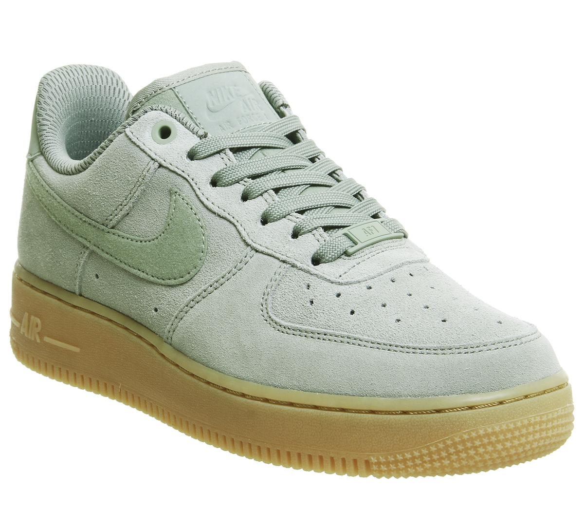 green and gum air force 1