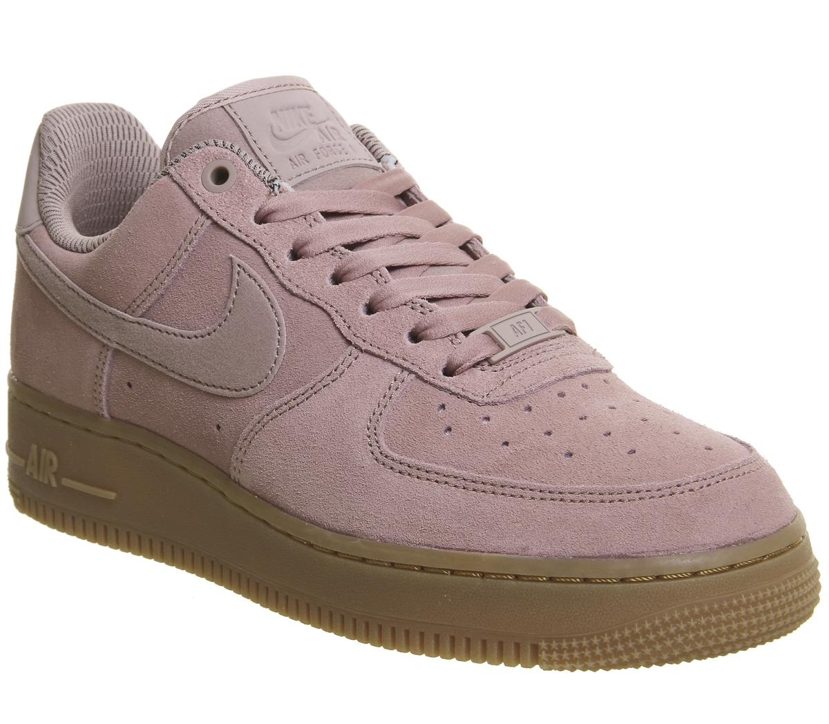 Nike Air Force 1 '07 Lv8 Suede Mens Particle Pink 70% Off