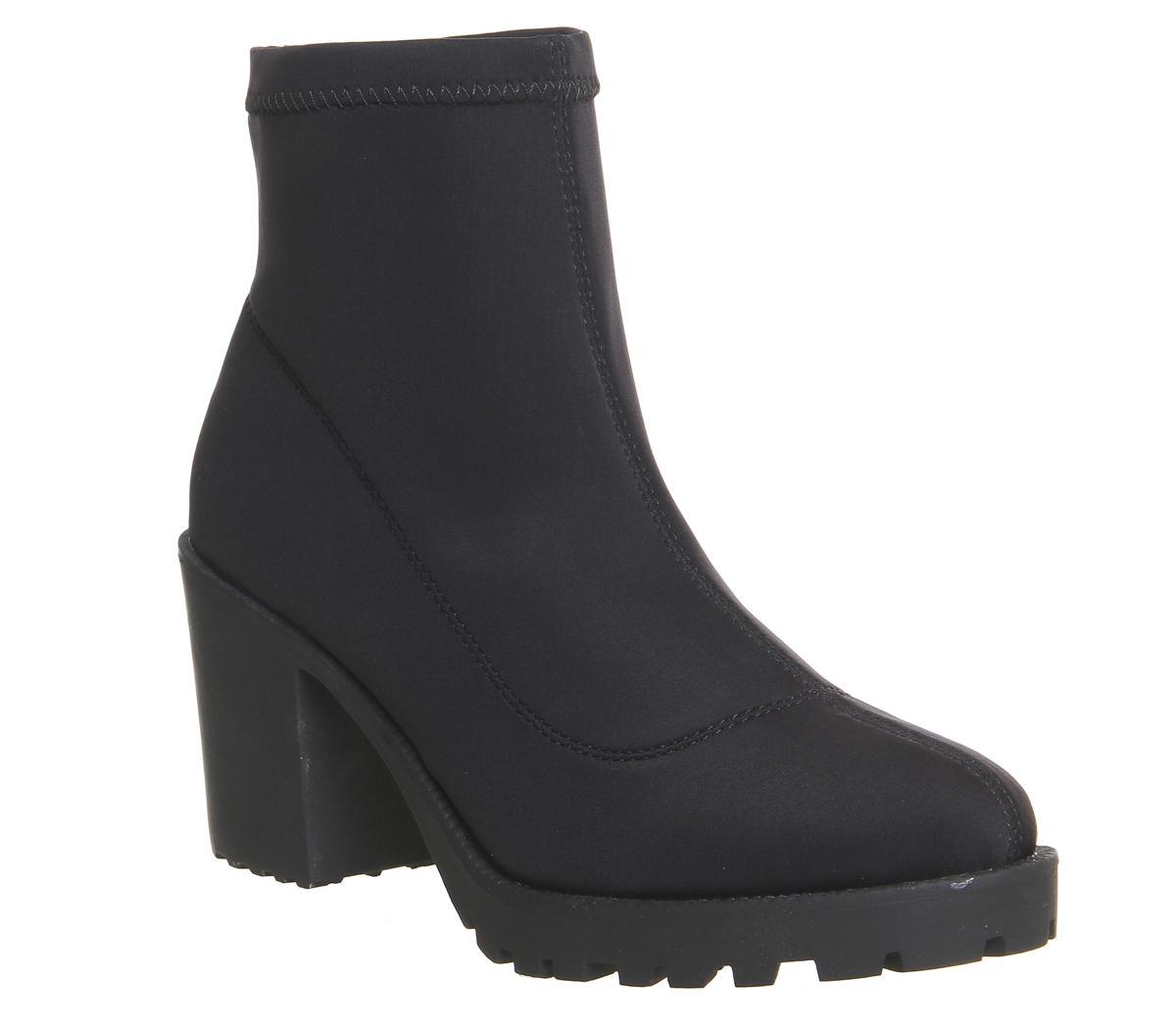 Alien Chunky Sock Boots