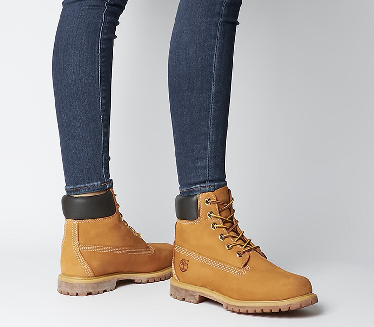 para jugar Para llevar polla  Timberland Premium 6 Boots Wheat Nubuck - Ankle Boots