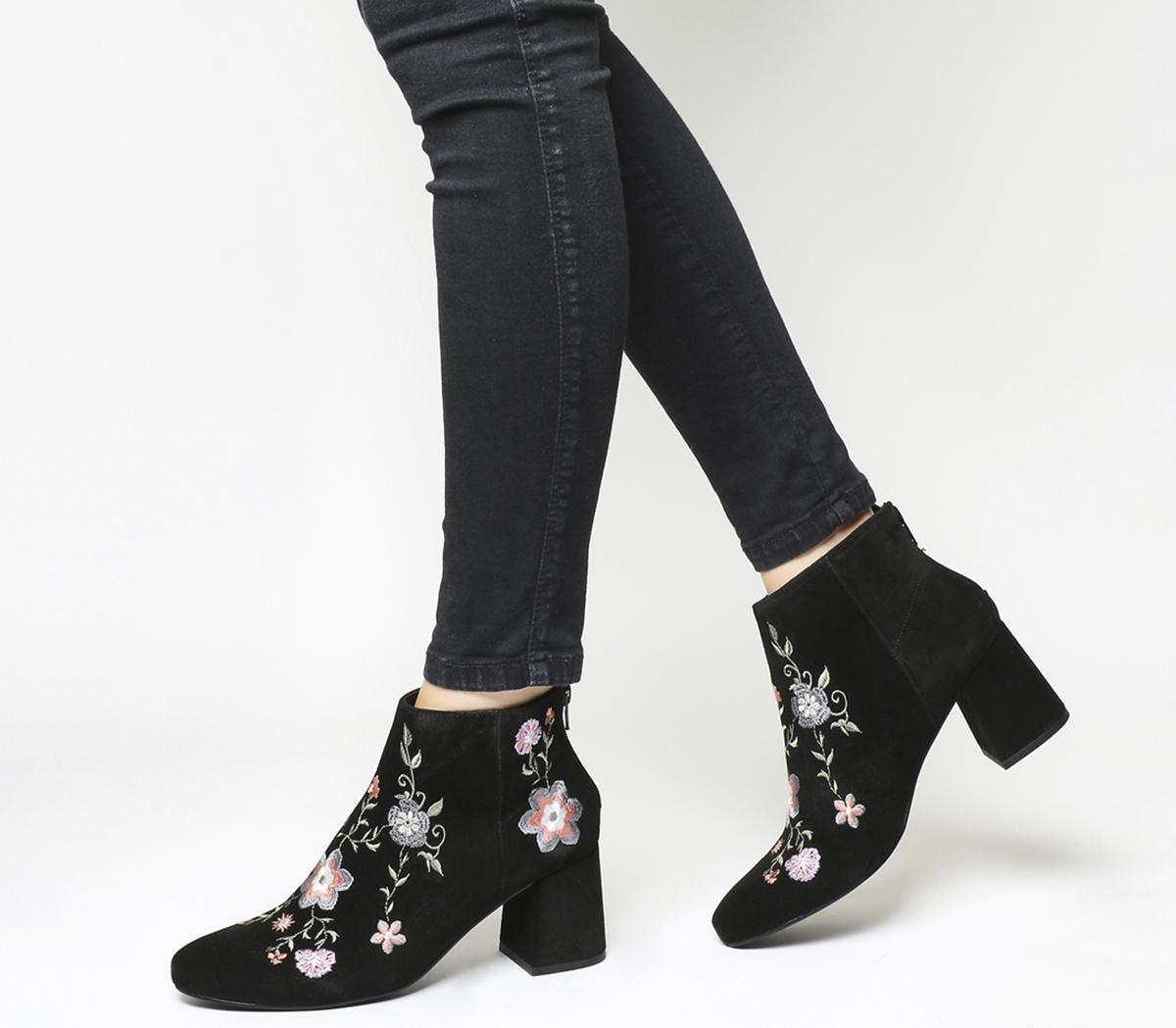 Africa Block Heel Boots