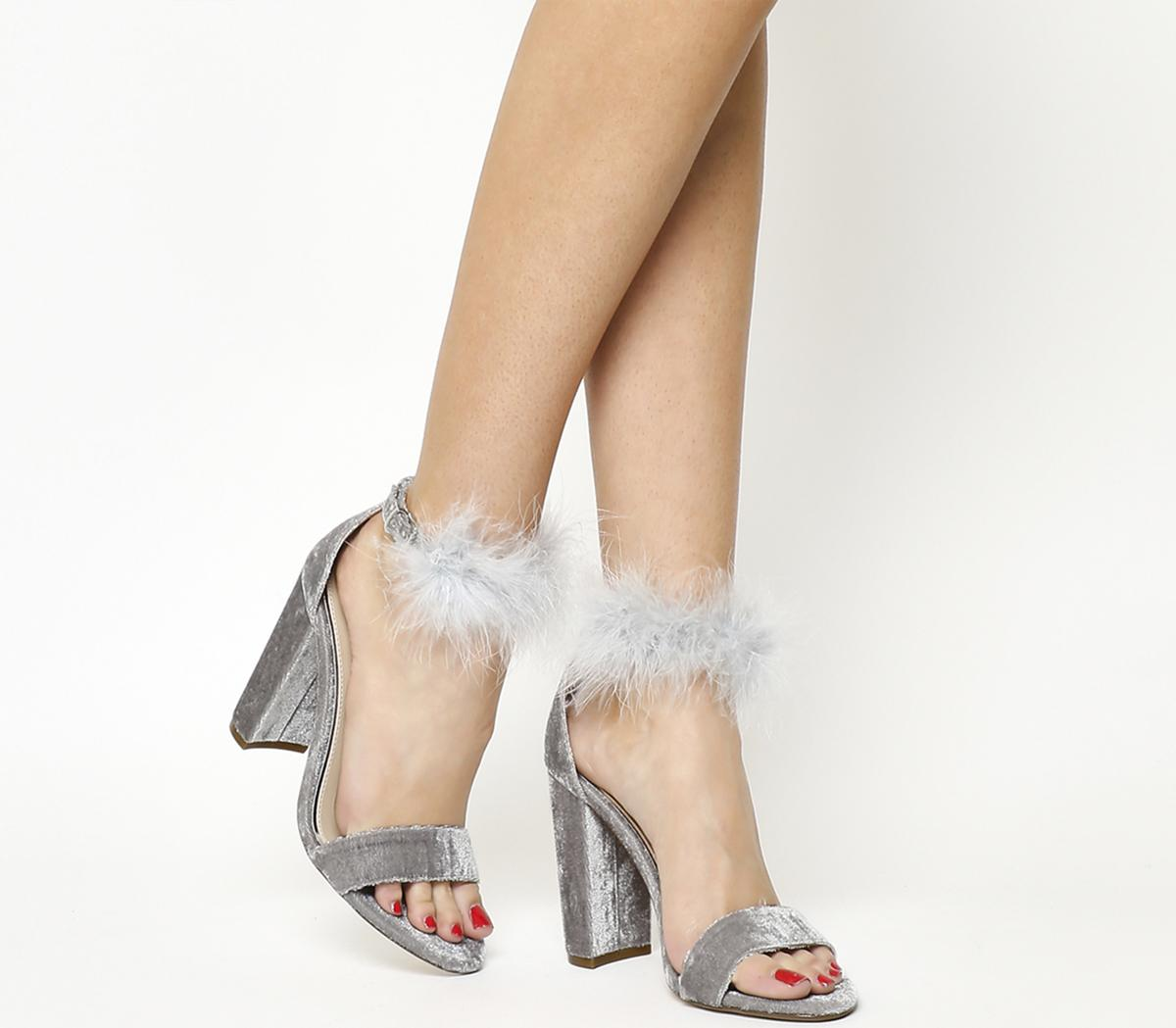 Hubba Hubba Fluff Ankle Trim Sandals