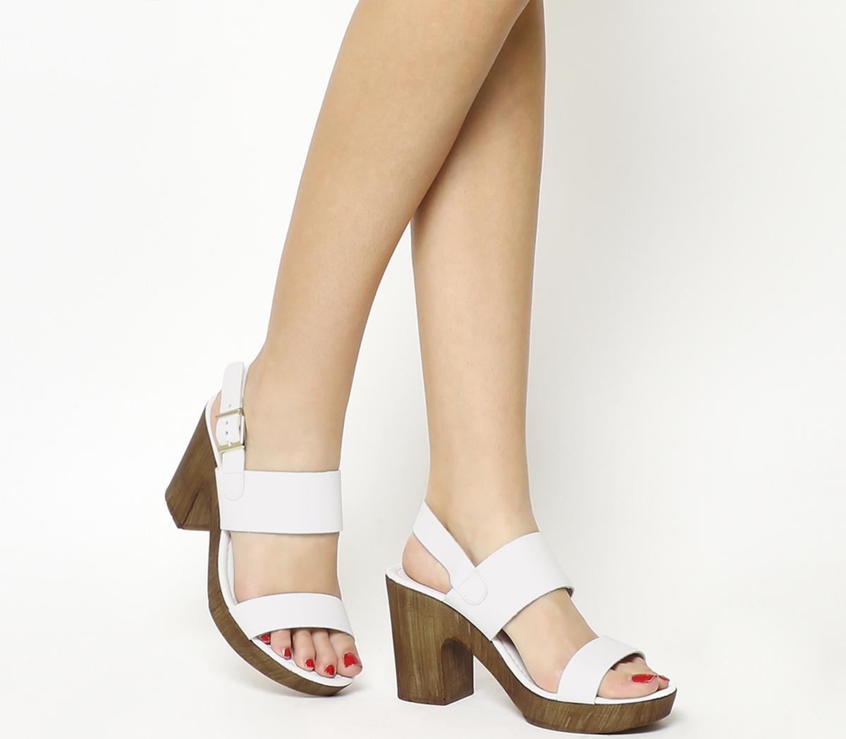 Michelle Wood Sandals
