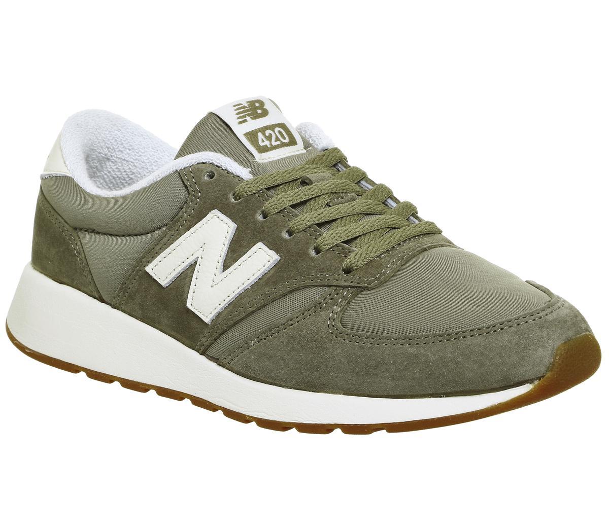 new balance 420 brown