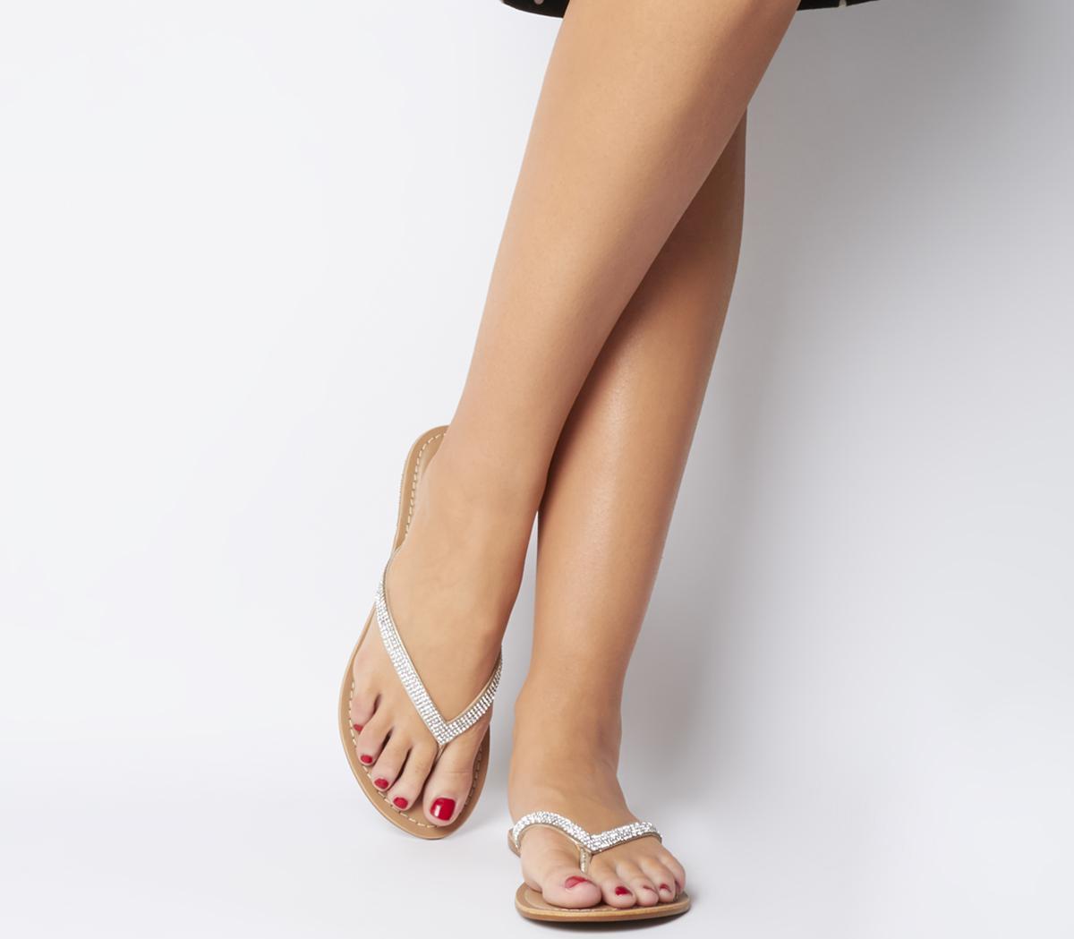 Stix Toe Post Mule Sandals