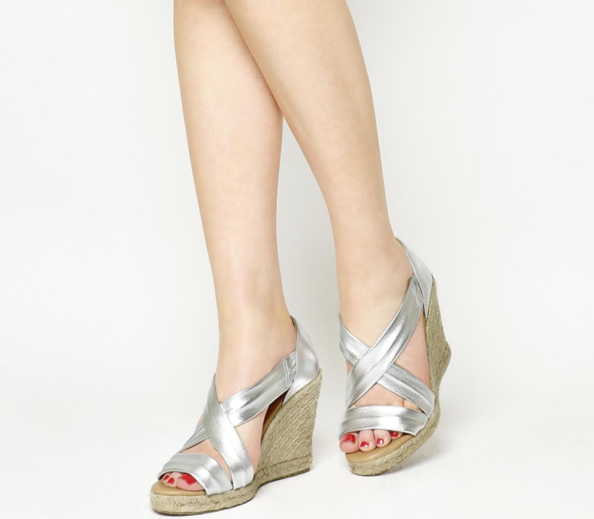 Holiday Wedge Espadrilles