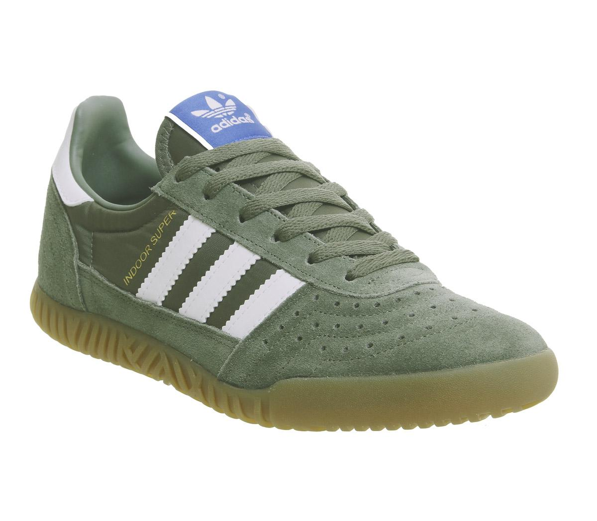 adidas Indoor Super Trainers Base Green