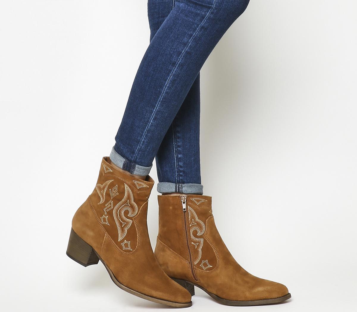 Atlanta High Cut Western Boots