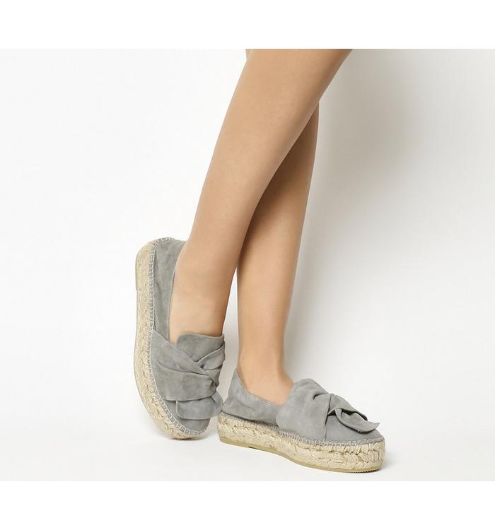 Gaimo for OFFICE Gaimo for OFFICE Toro Knot Wedge GREY SUEDE