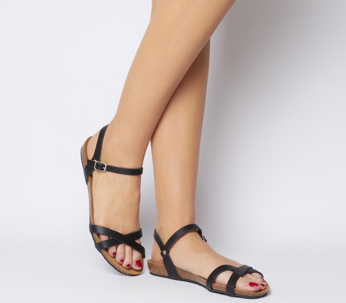 Safari Cross Strap Sandals