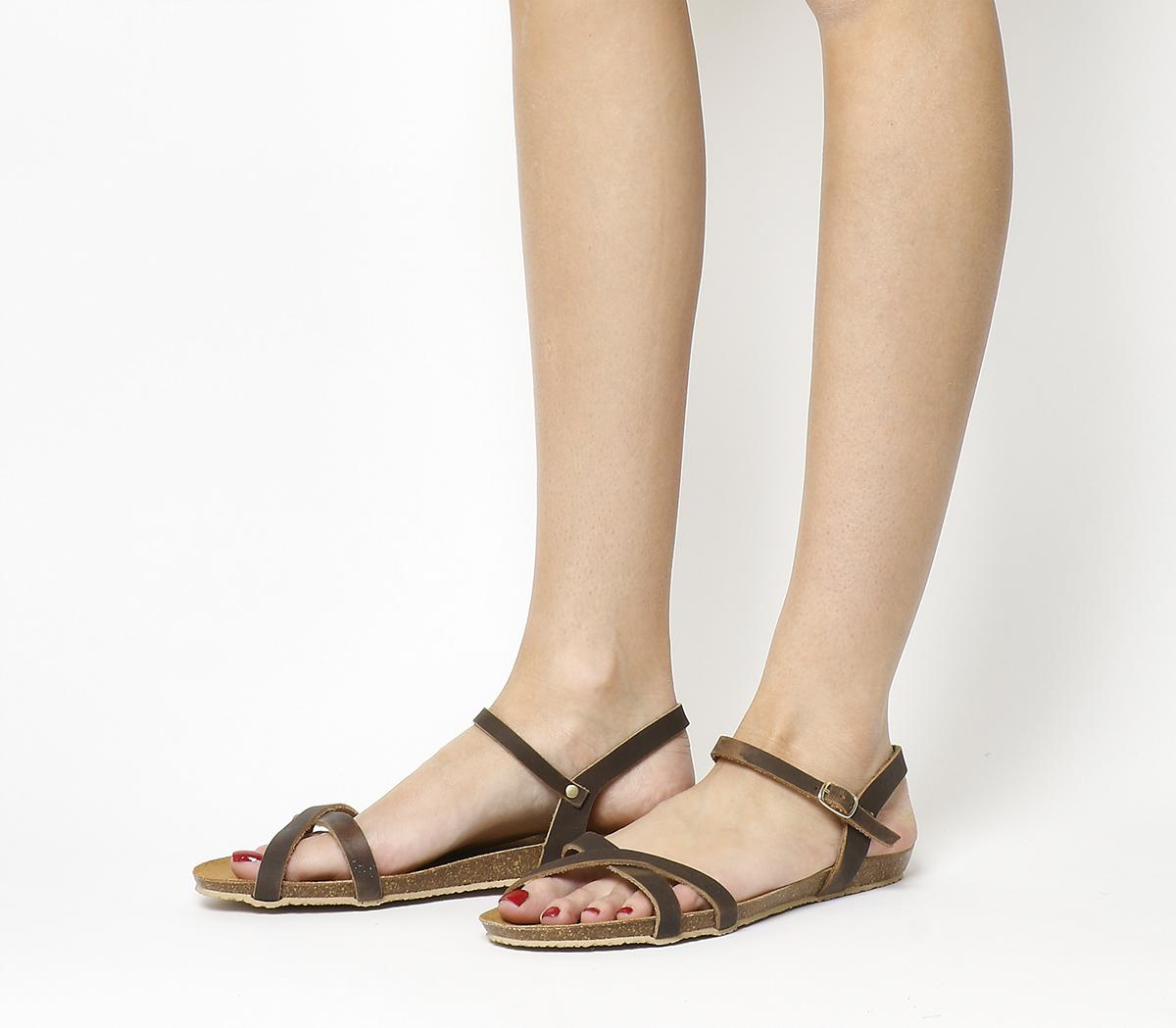 Safari Cross Strap Sandals