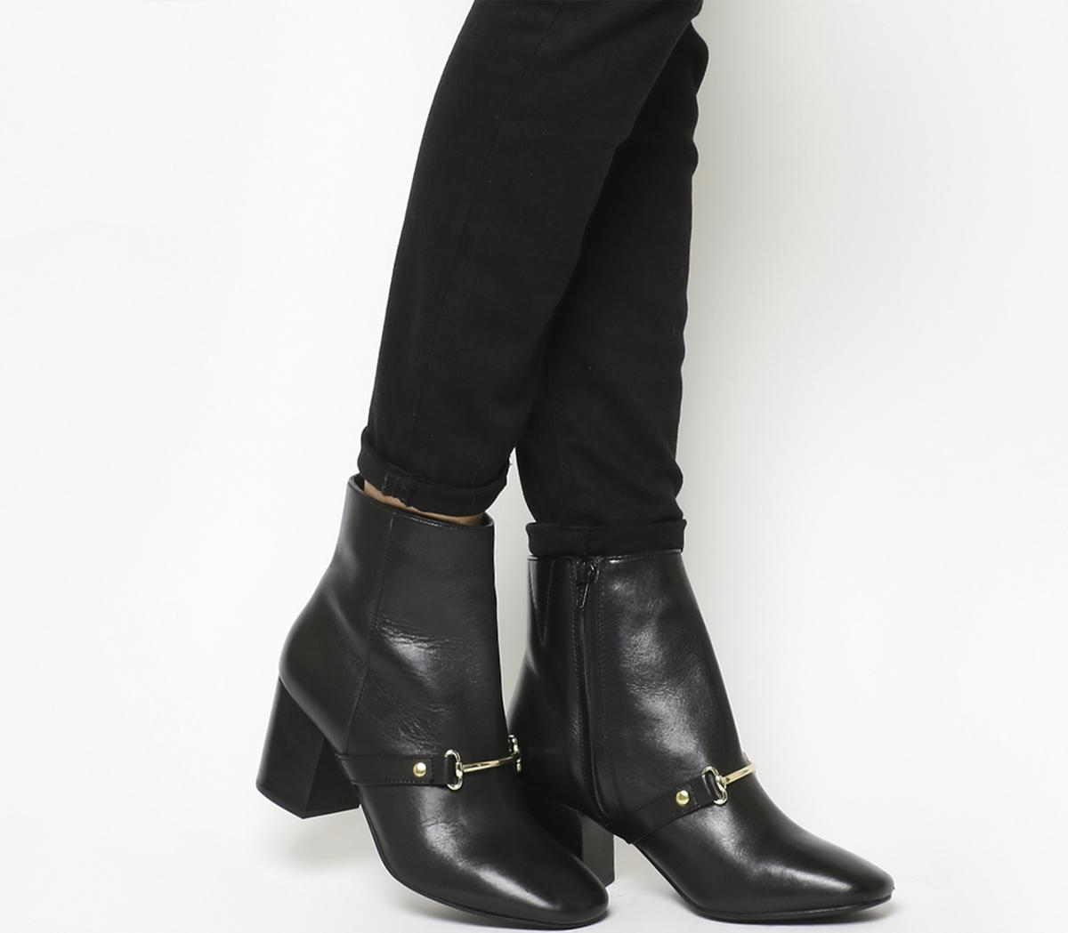 Ambition Snaffle Ankle Boots