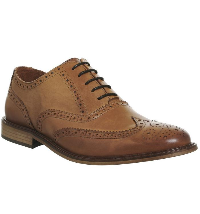 Ask the Missus Ask the Missus Friendly Brogue TAN LEATHER