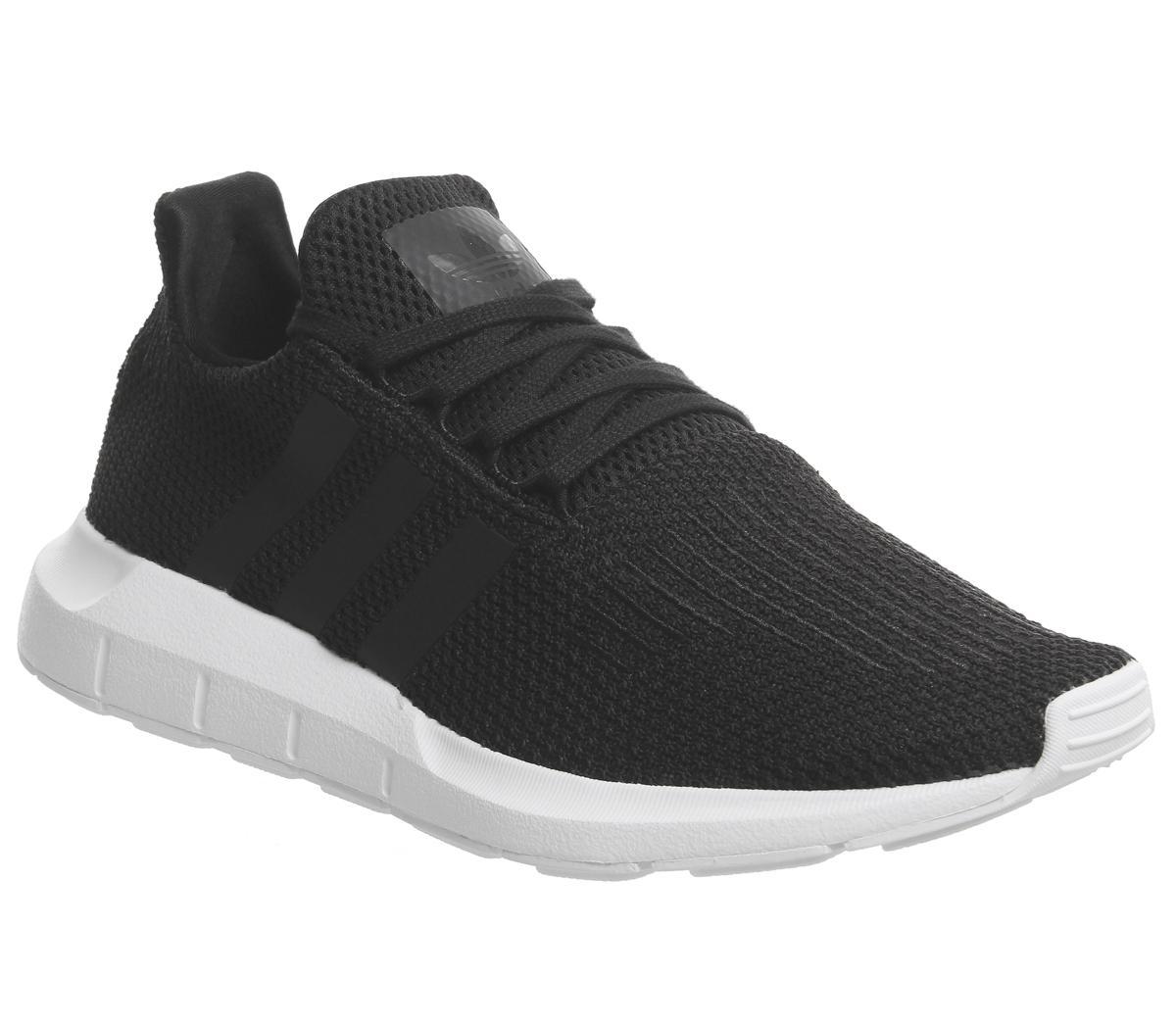 adidas Swift Run Black Mono Hers trainers