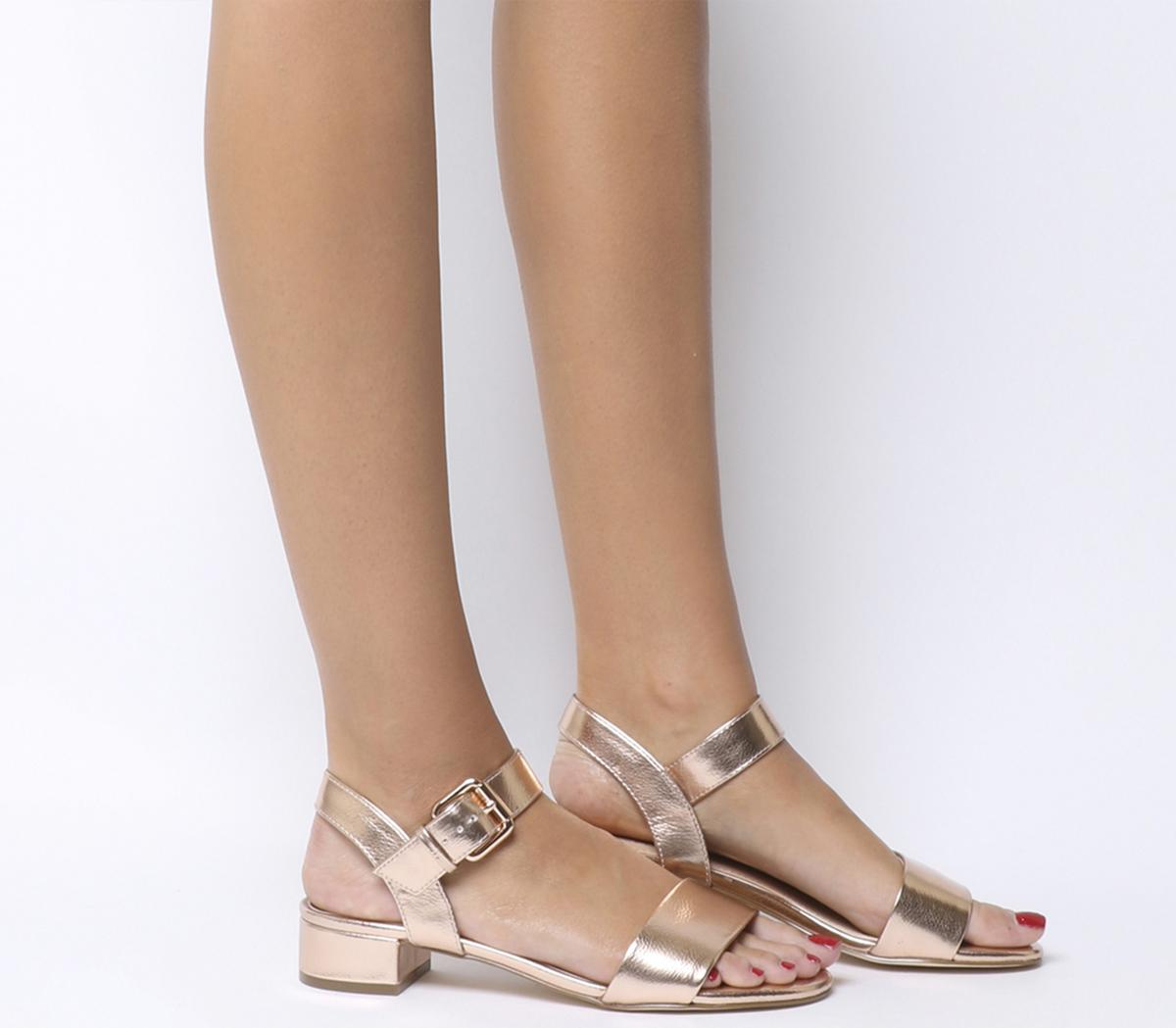 Morgan Block Heel Sandals