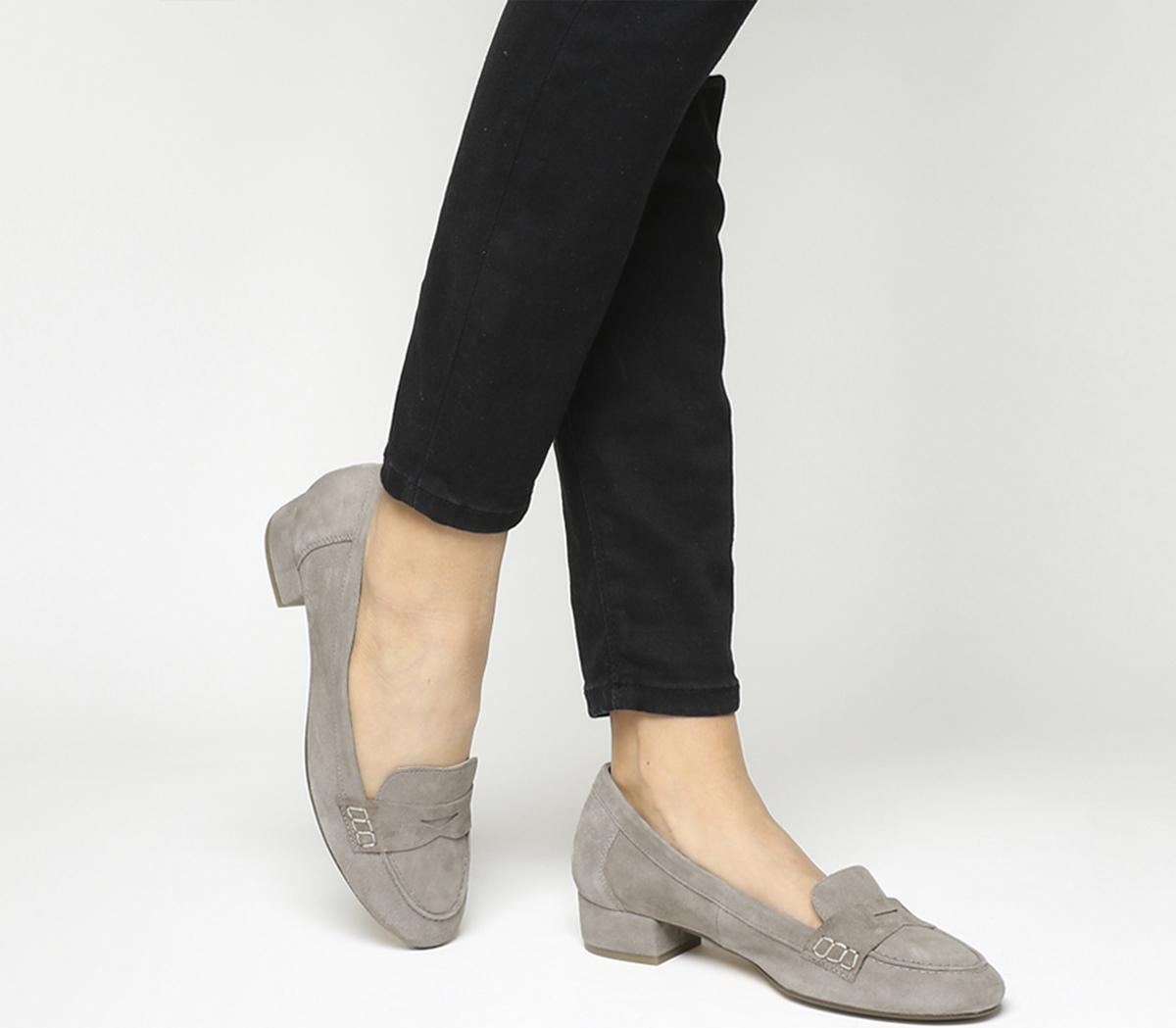 Farrah Mini Block Heel Loafers