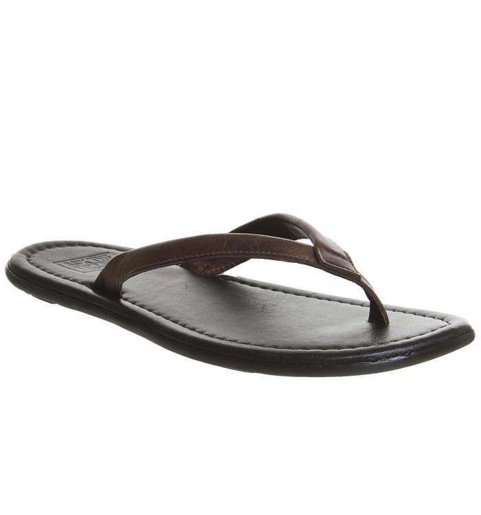 Ask the Missus Ask the Missus Frank Thong Sandal TAN LEATHER