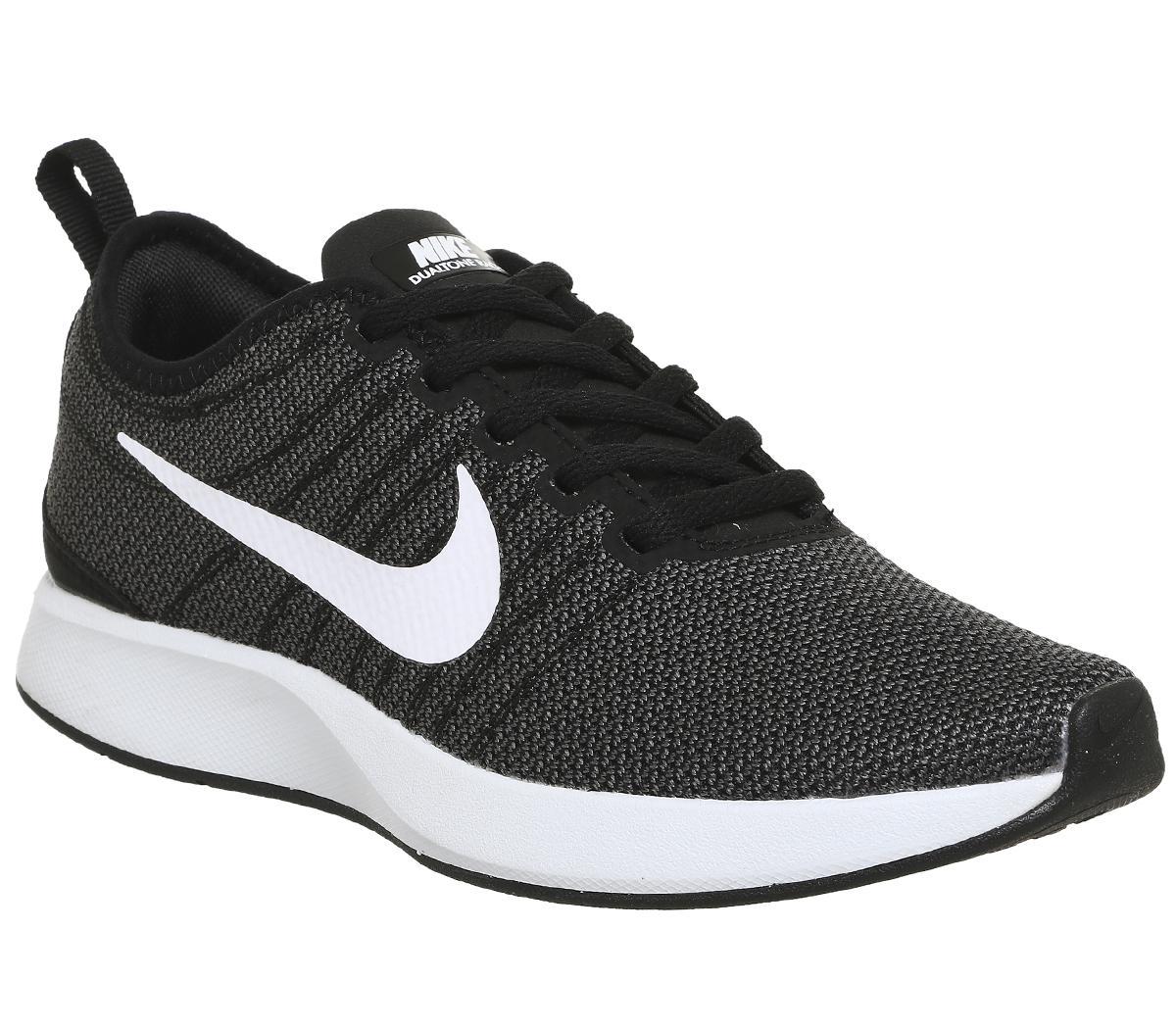 Nike Dualtone Racer Black White - Hers