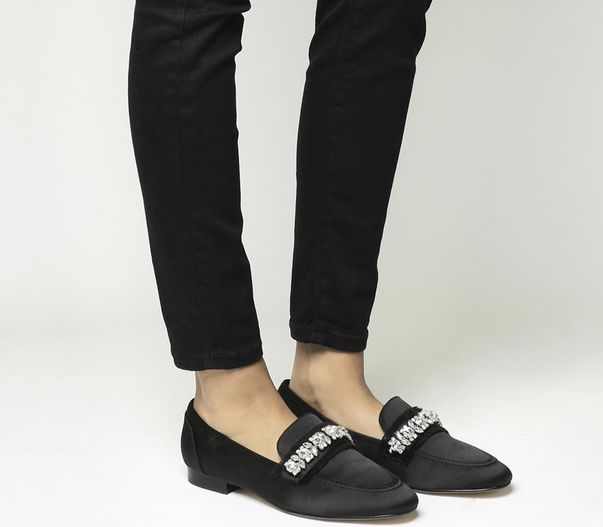 Finders Keepers Gem Trim Loafers