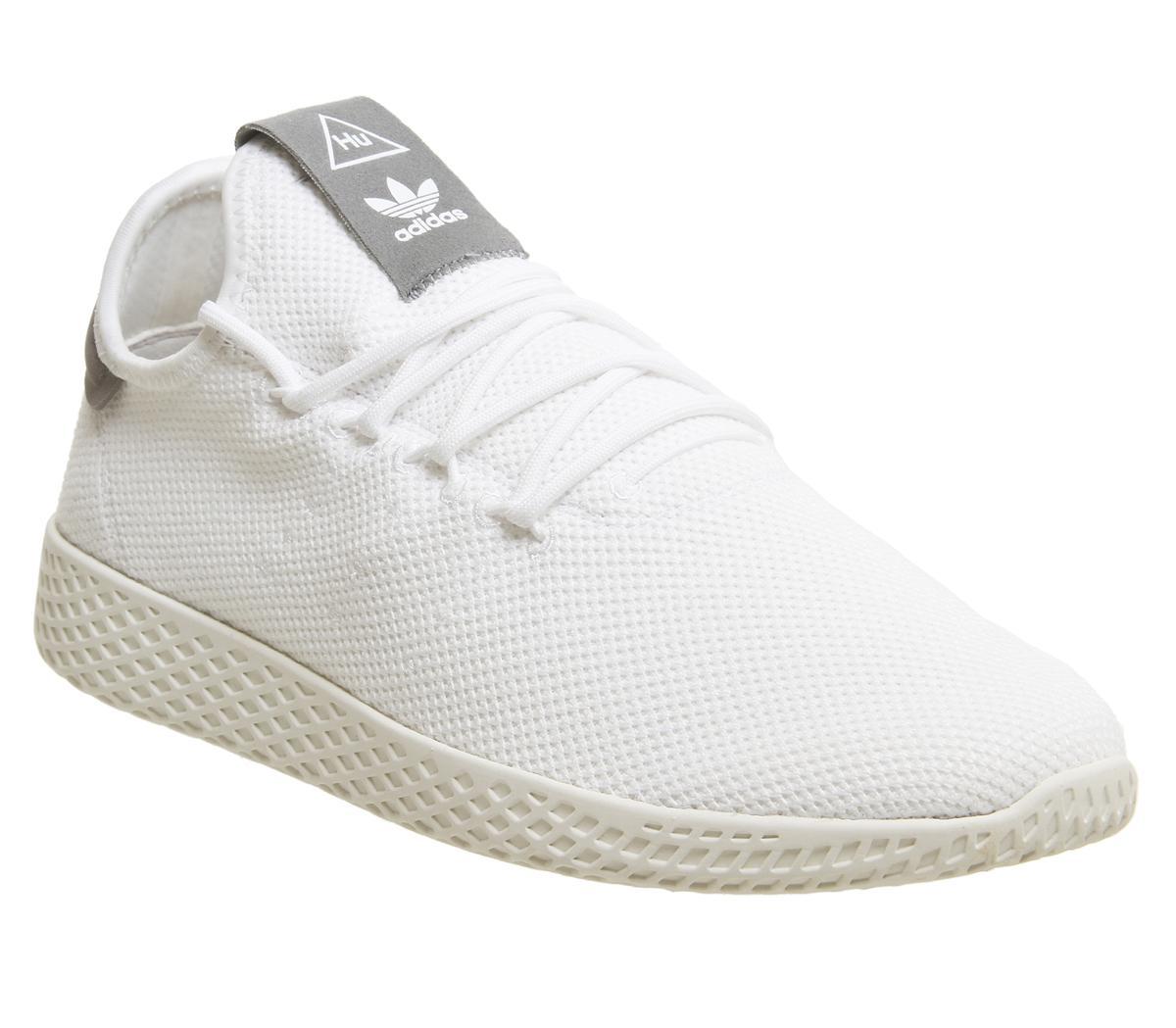 adidas Pw Tennis Trainers White Grey