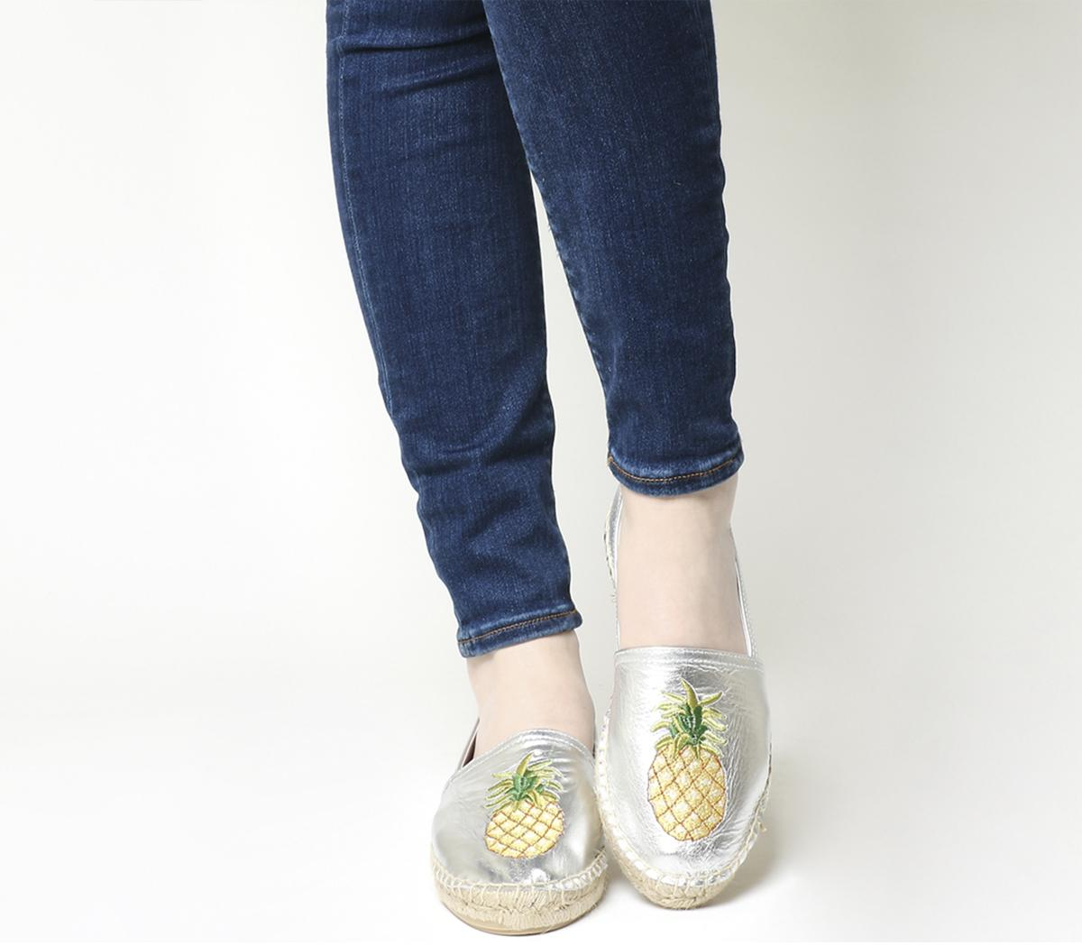Forestry Embroidered Espadrilles