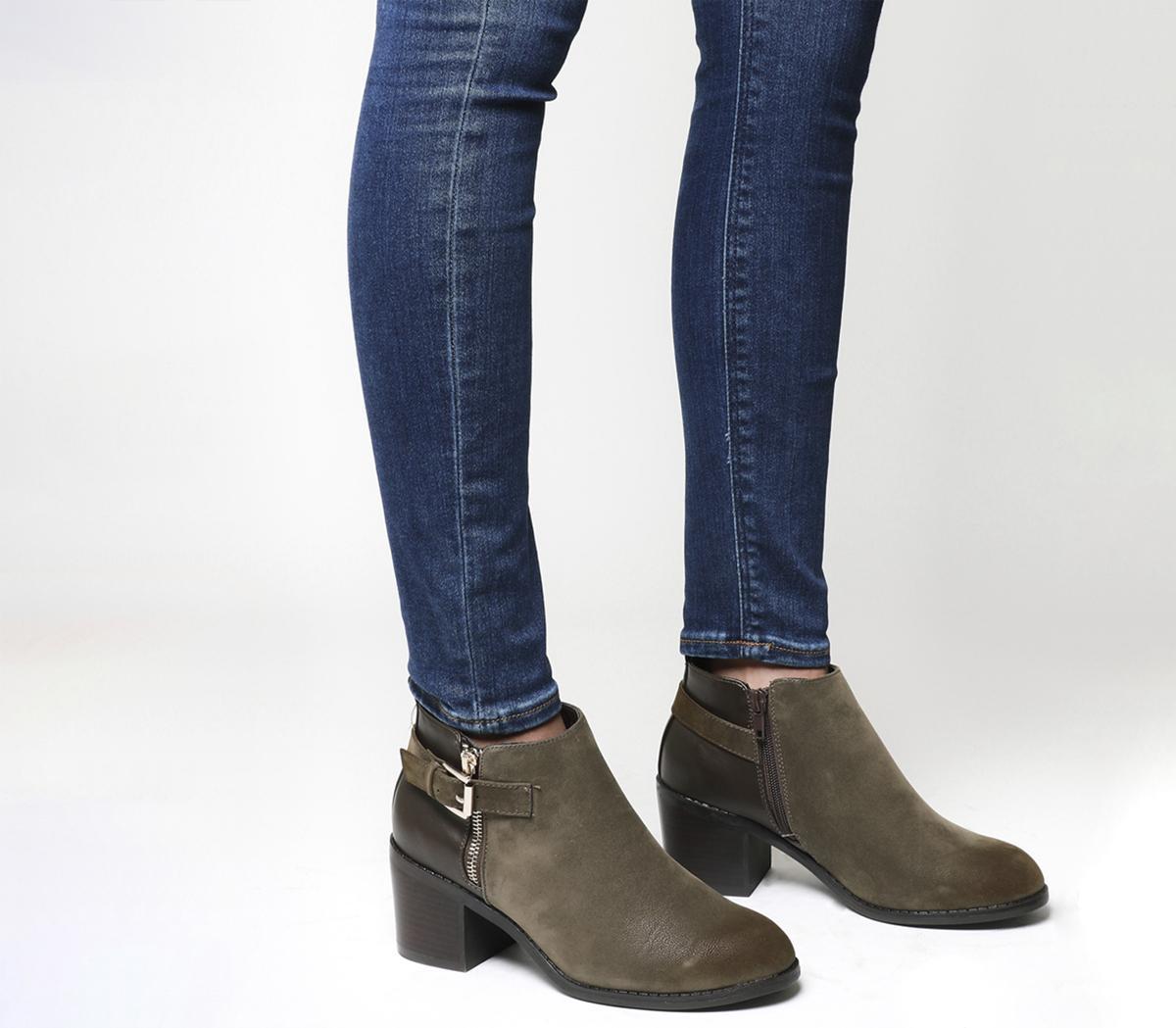 Academy Double Zip Boots