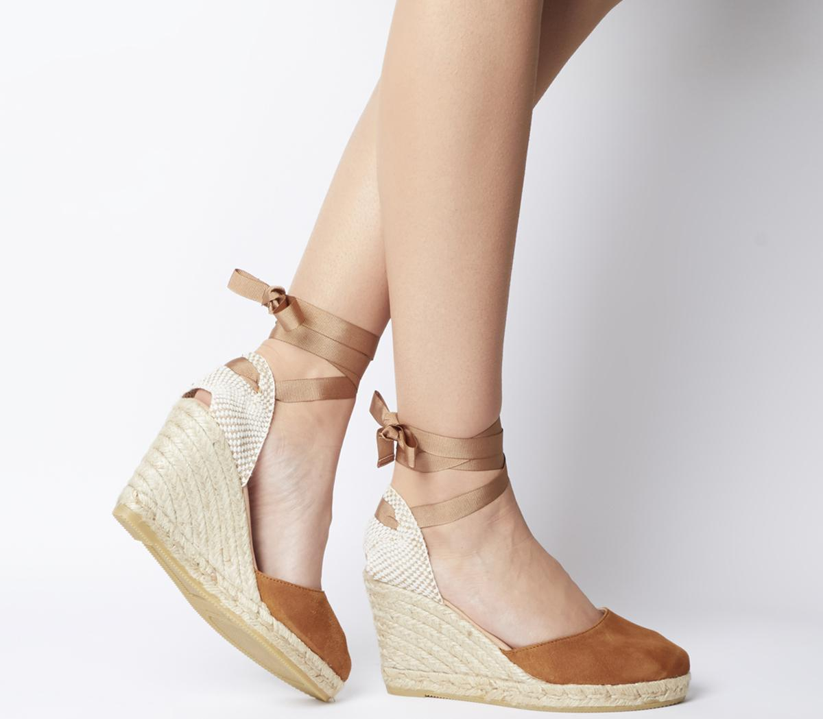 Ankle Wrap Espadrille Sandals