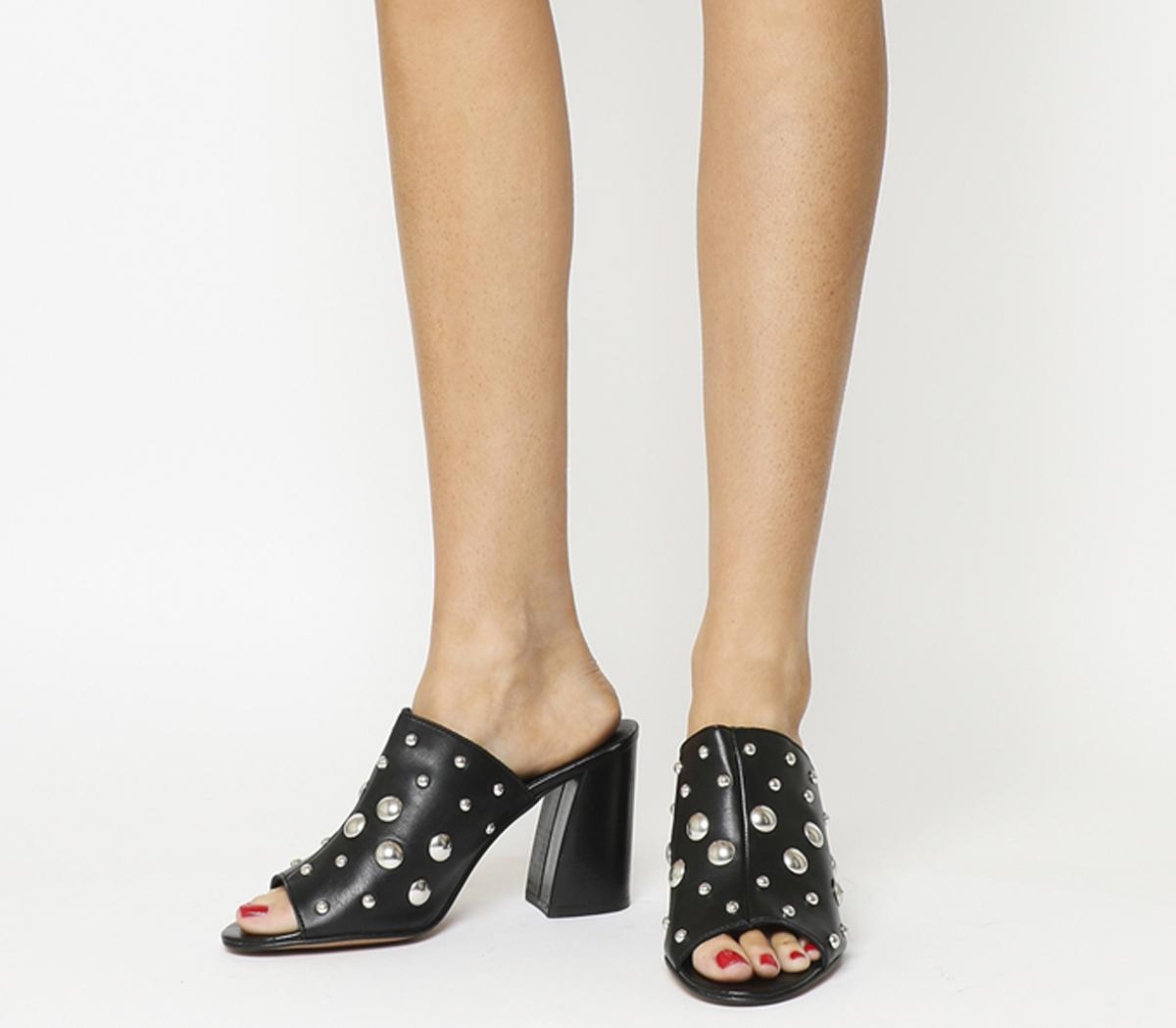 Harsh Studded Mules