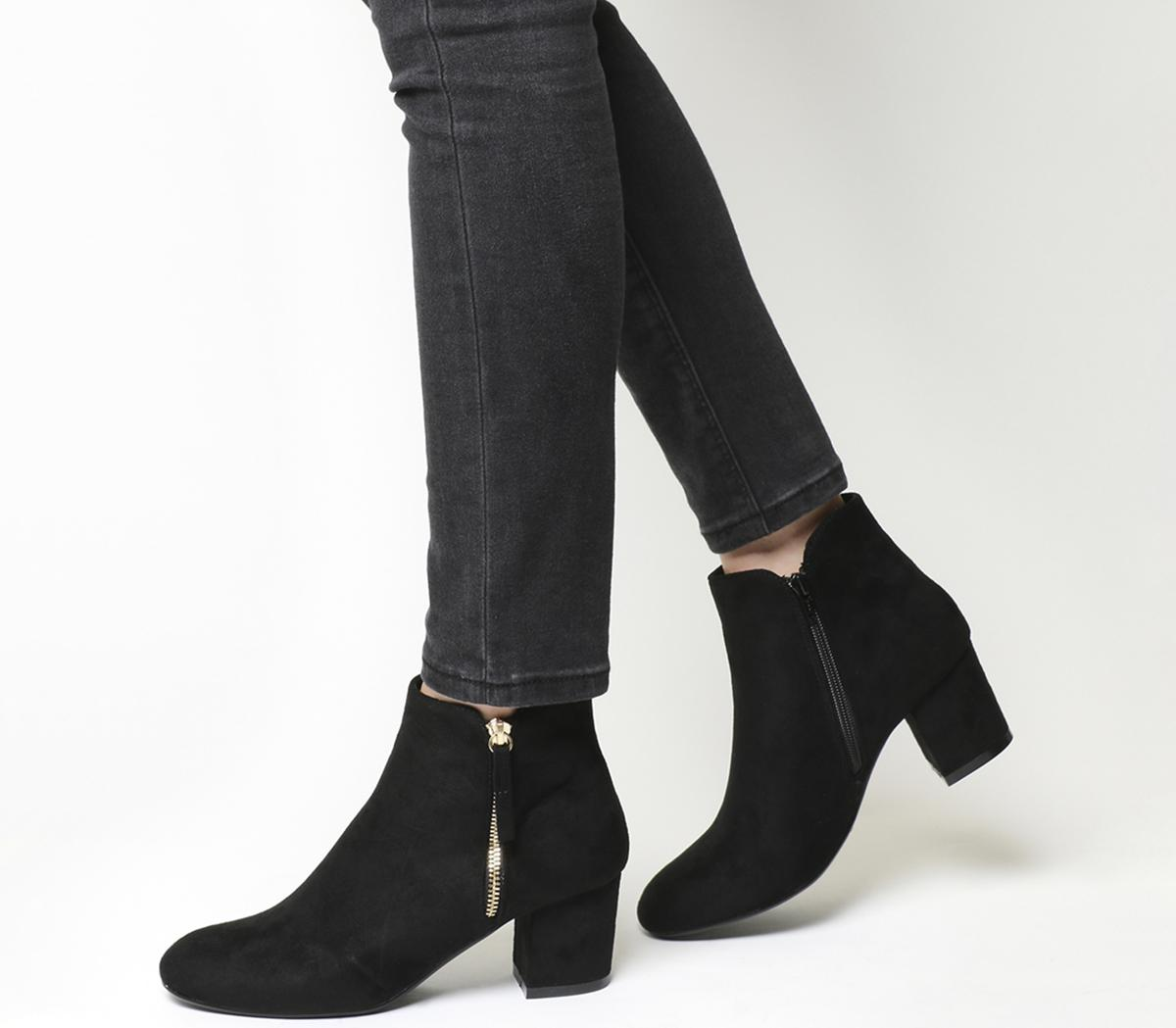 Alicia Side Zip Boots