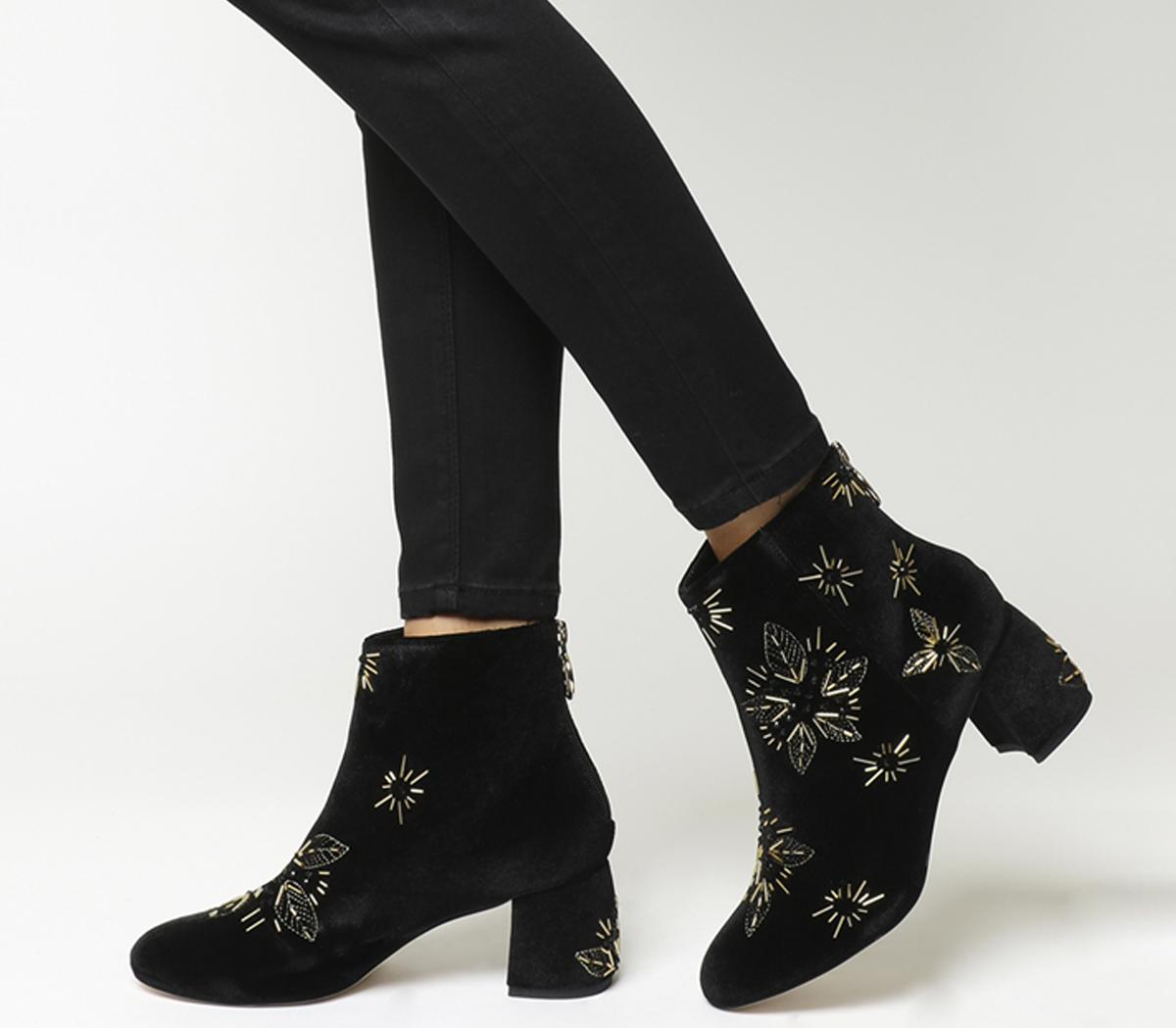 Arch Enemy Block Heel Boots