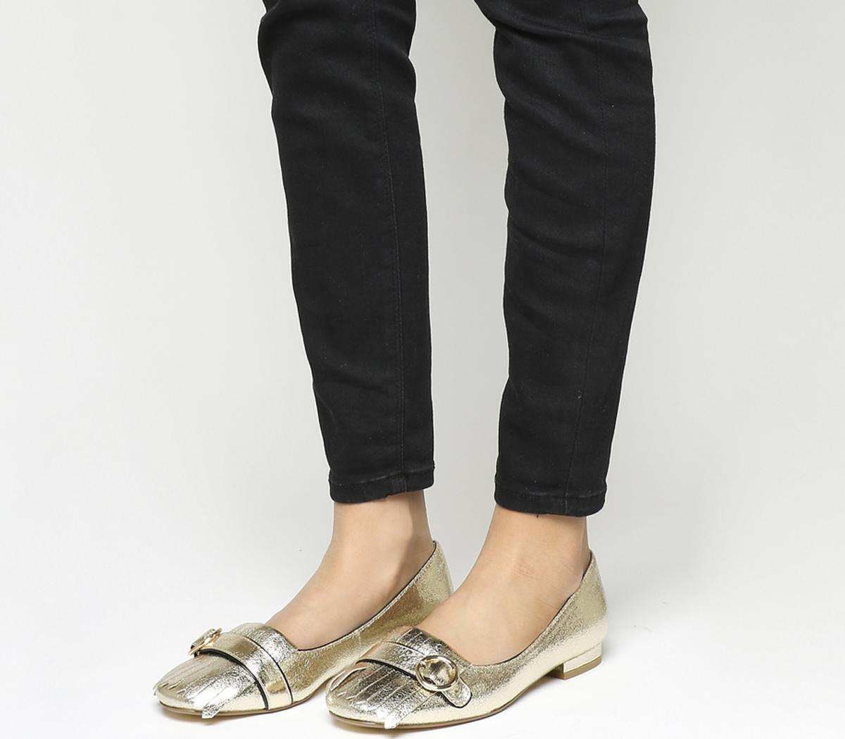 Felicity Fringe Detail Loafers
