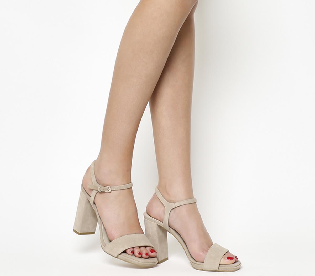Hazzard Slim Platform Sandals