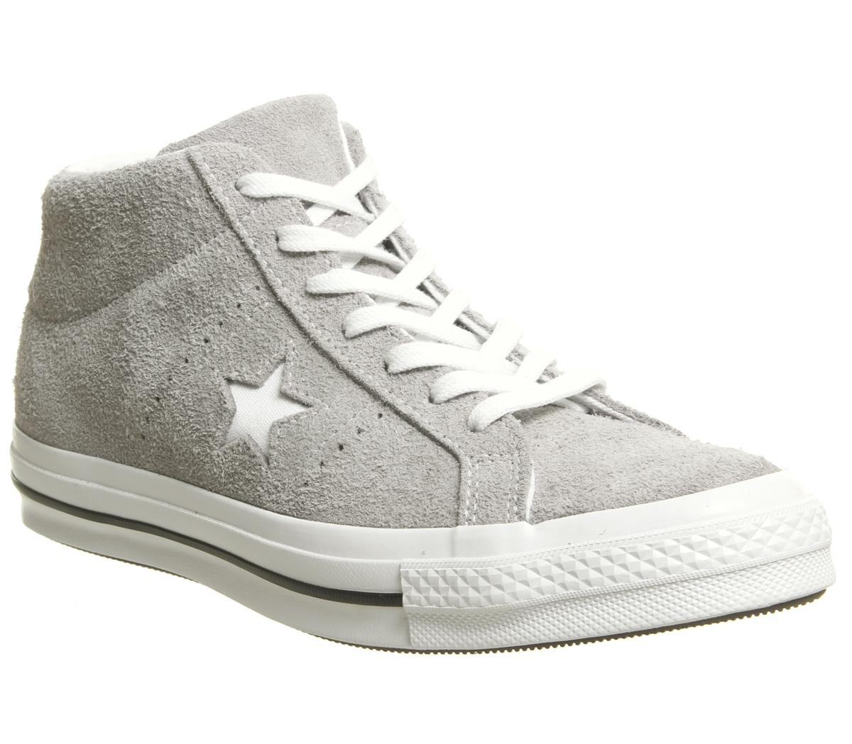 Converse One Star Mid Trainers Mercury