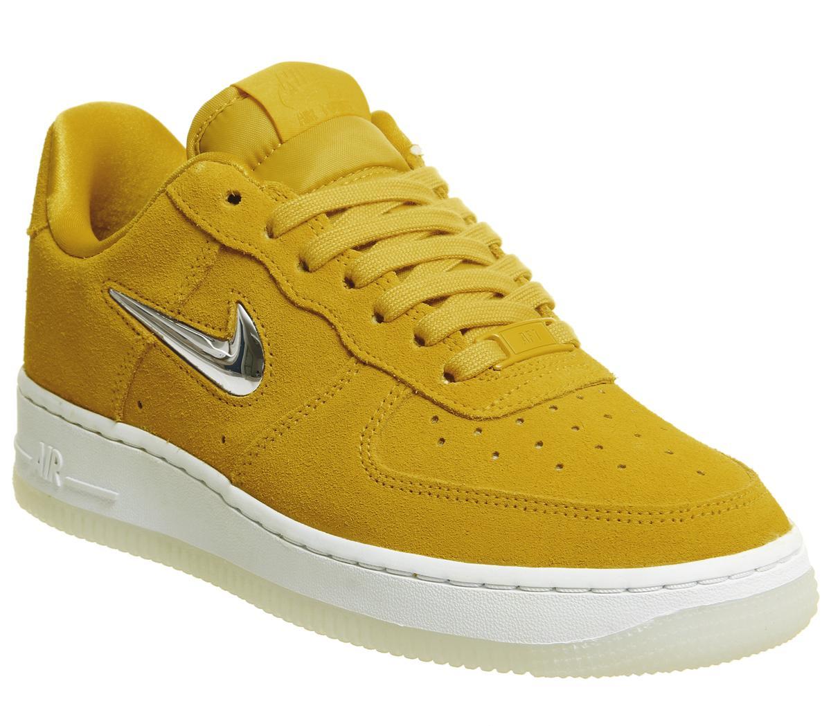 Nike Air Force 1 Jewel Trainers Yellow