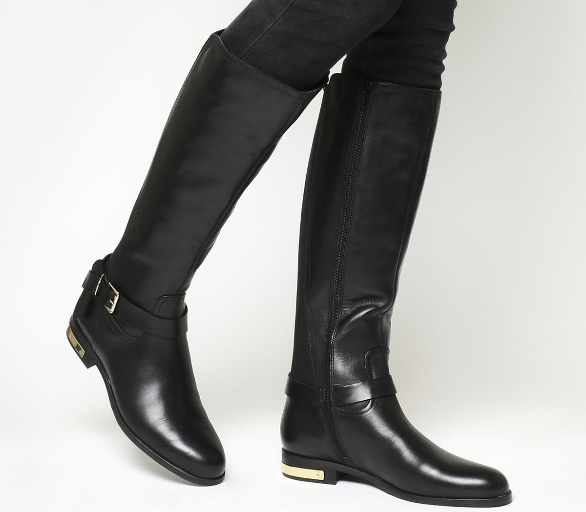 Knightly Riding Boot Black Leather