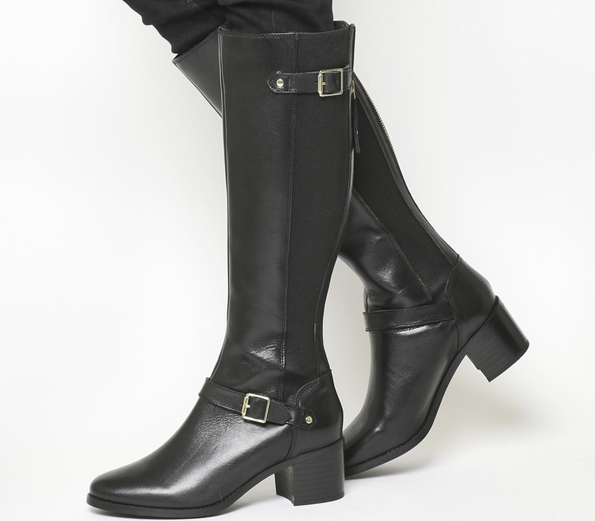 Office Kestrel Mid Heel Riding Boots