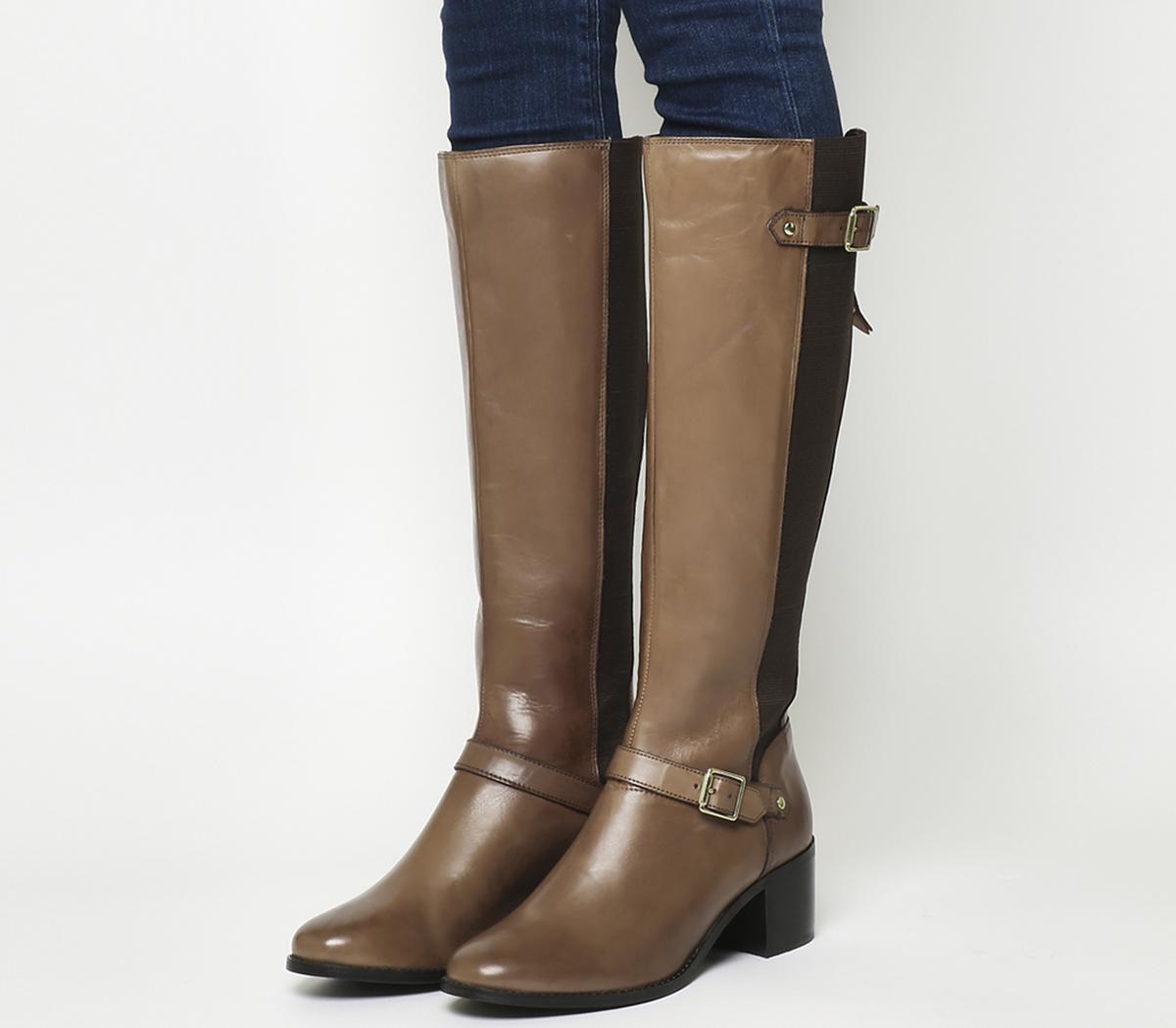 Kestrel Mid Heel Riding Boots