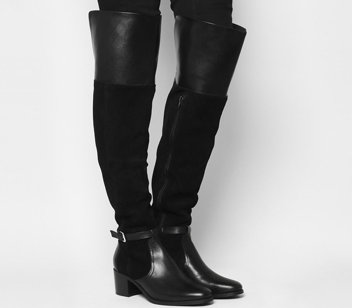 Office Kacey Over The Knee Riding Boots