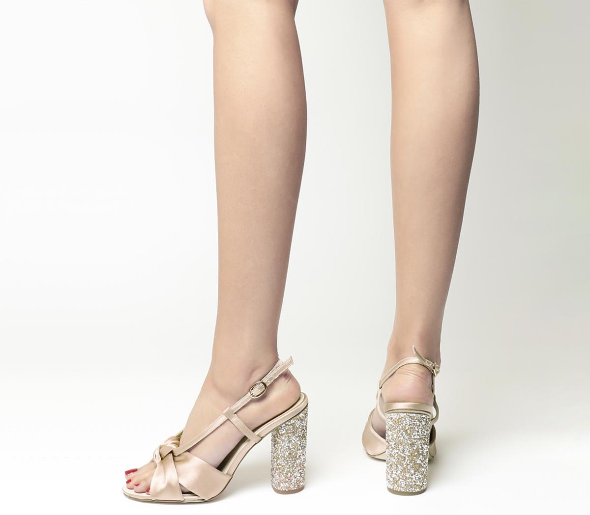 Hamper Glitter Heels