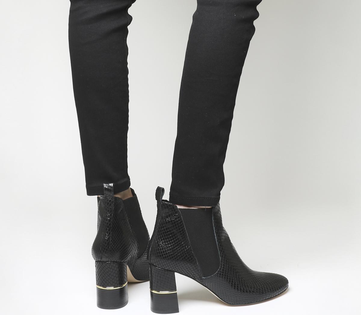 Autumn Block Heel Boots