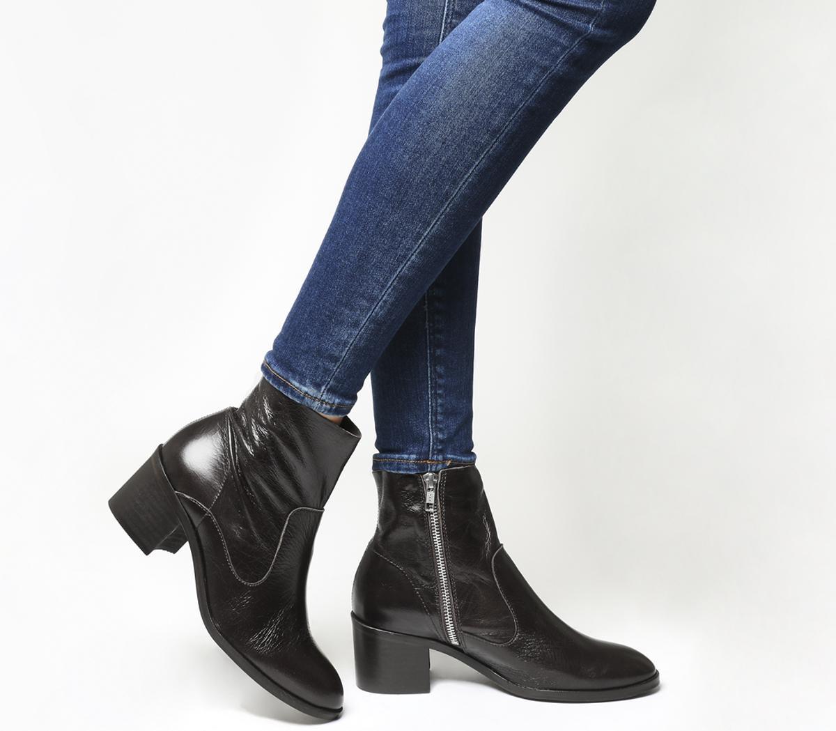 Albury Block Heel Boots