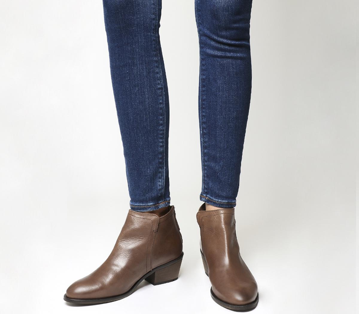 Aiden Back Zip Boots
