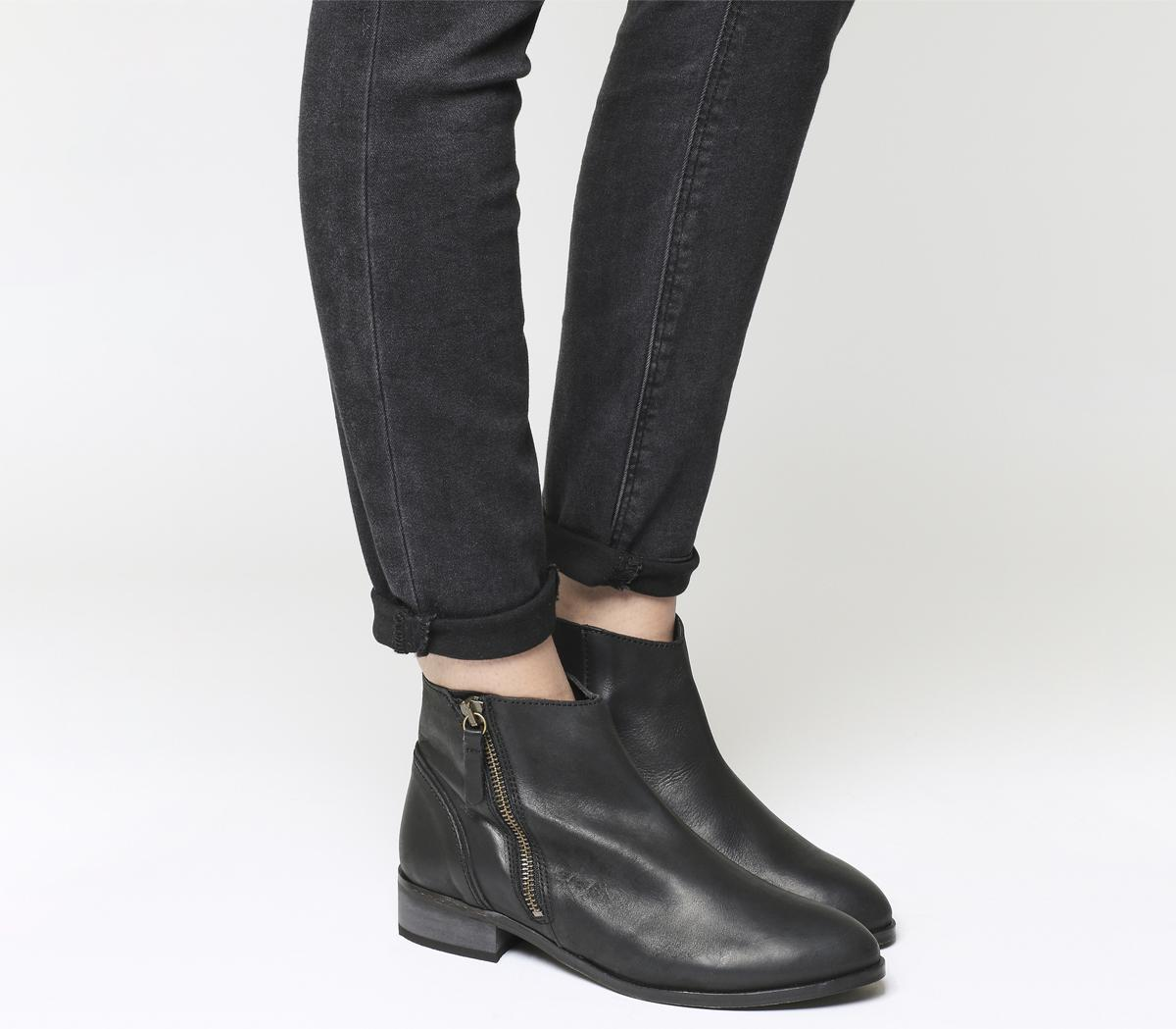 Accent Side Zip Boots
