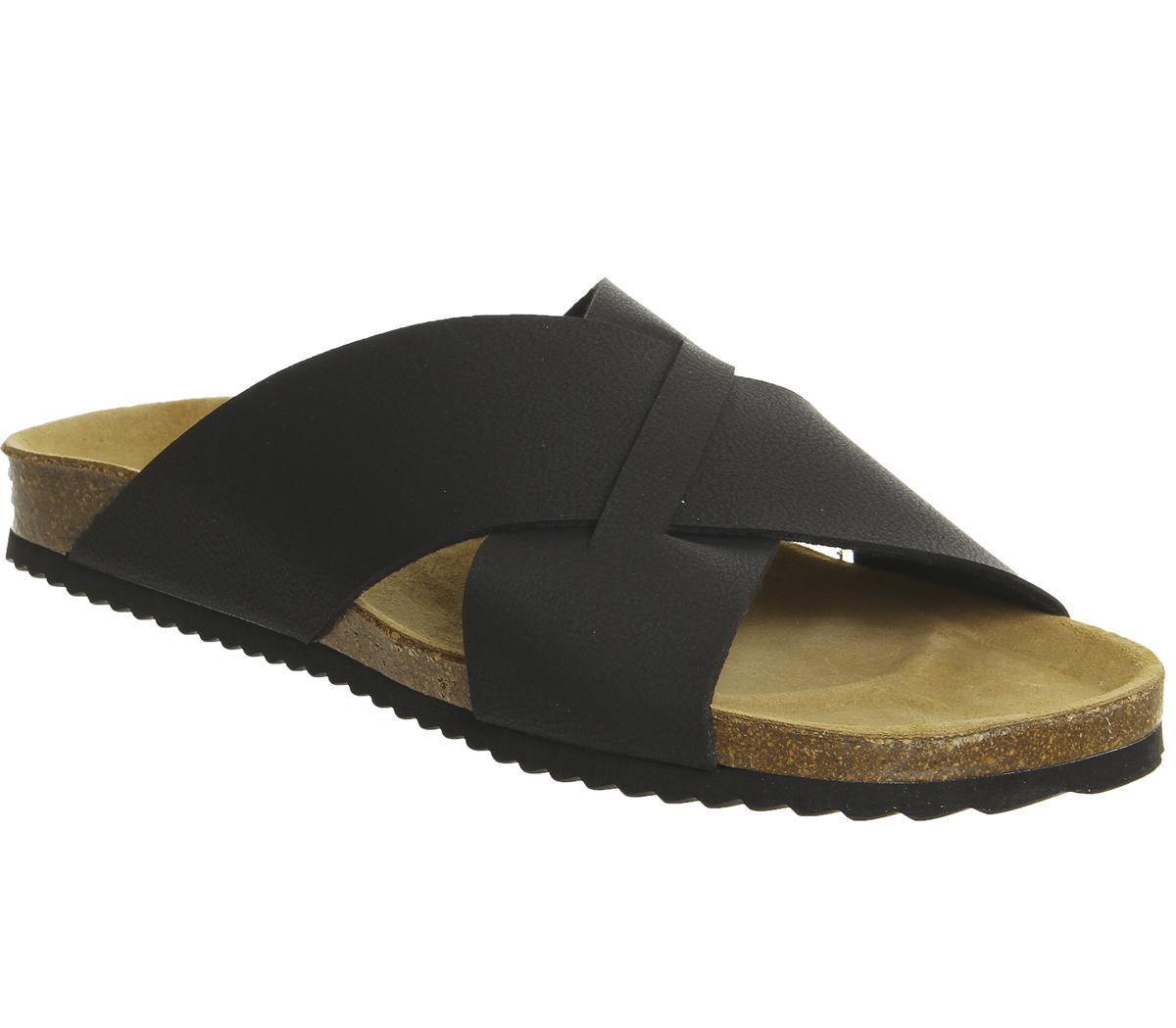 Fiji Cross Strap Sandals