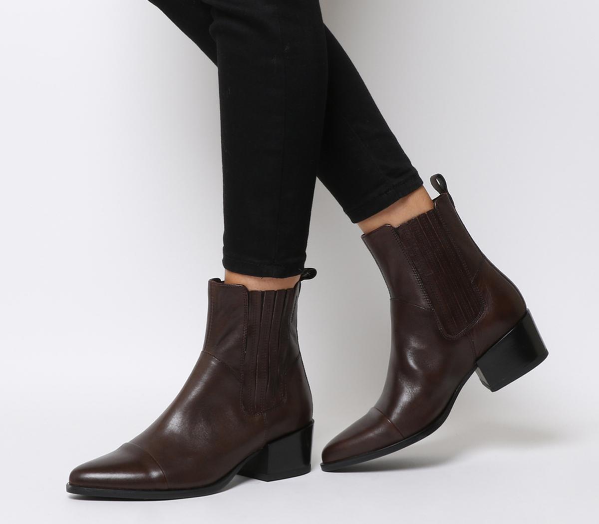 Vagabond Marja Chelsea Boots Espresso